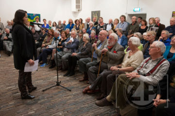 Zondag vond in het Museum Henriette Polak de opening plaats van de expositie van Norbert Olthuis.