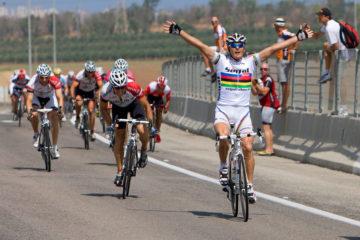 Freddy Keller wint in Israel