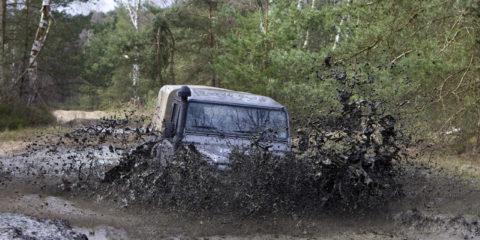 Off road weekend met Adventure King, ABN AMRO en Land Rover Enschede in Furstenau.