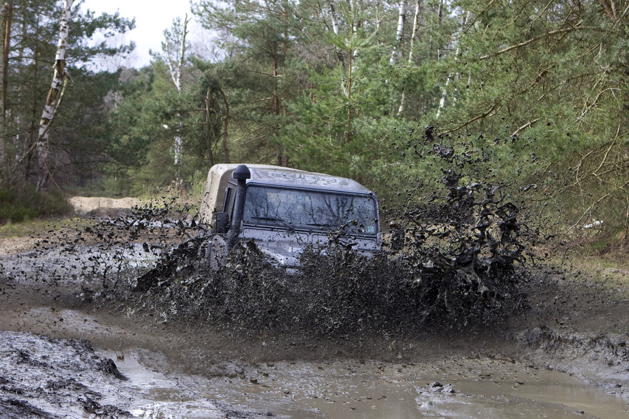 Off road weekend met Adventure King, ABN AMRO en Land Rover Enschede in Furstenau.