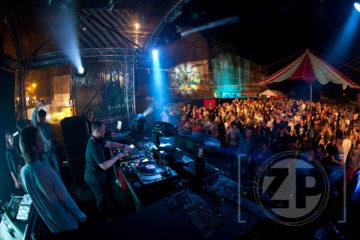 Pathfinder festival op het Noorderhaventerrein.
