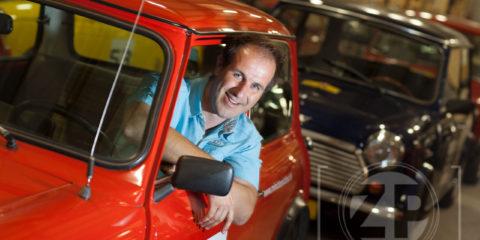 Genomineerde Apeldoornse Ondernemer van het jaar, Erik Kroon van SOS Events.
