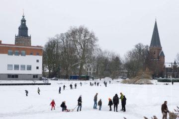 Fotograaf Patrick van Gemert maakte even een korte stop toen hij, tussen de opdrachten door, dit winterse plaatje zag.