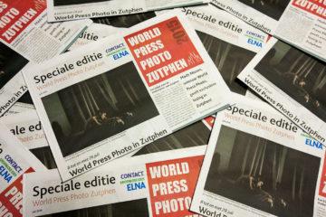 De speciale World Press Photo Zutphen krant.