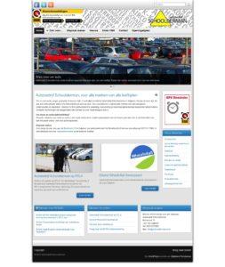 Website Autobedrijf Schoolderman homepage 2013