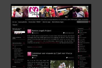 Burtons Angels website 2009-2013