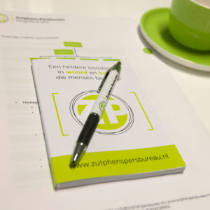 Workshop persbericht schrijven bij Zutphens Persbureau
