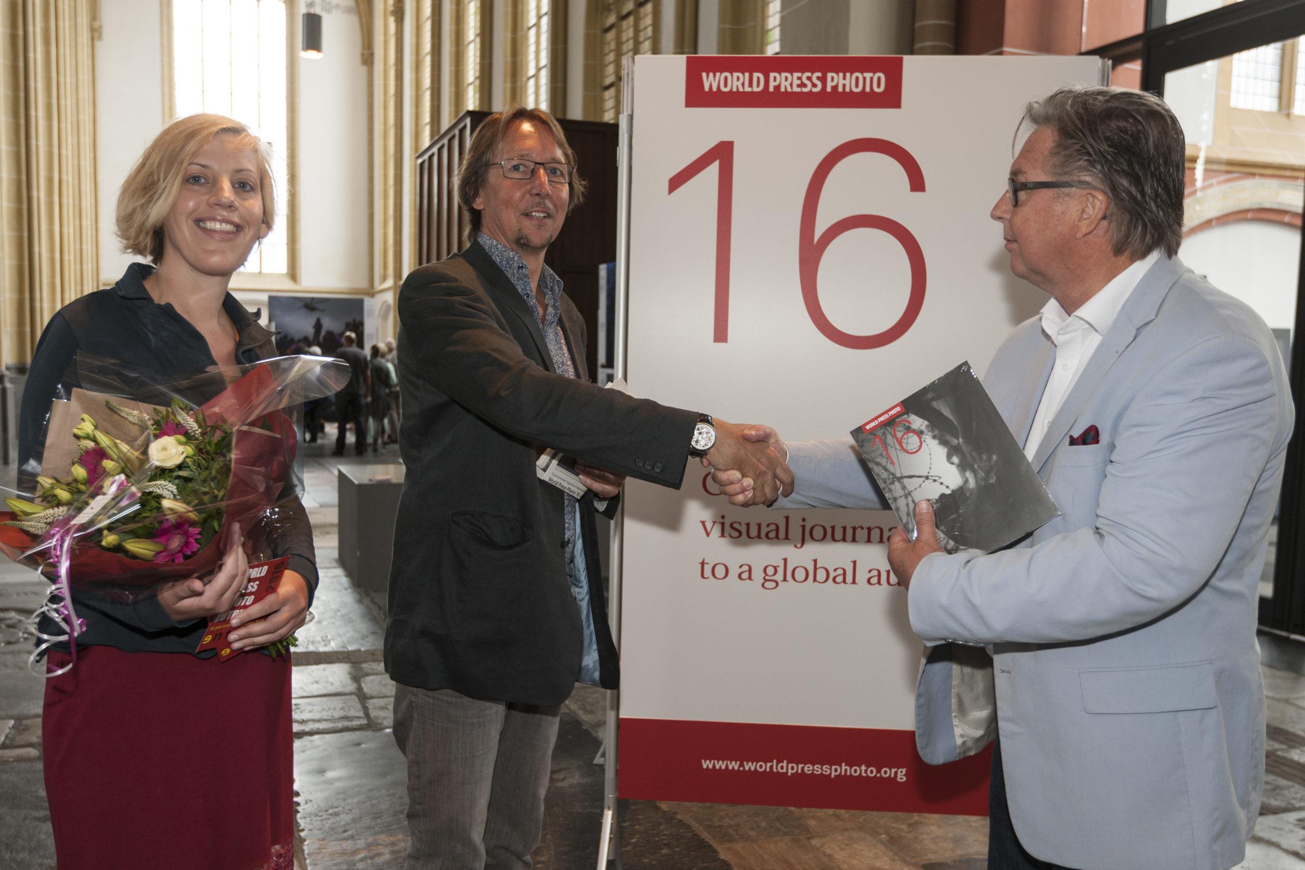 10000ste bezoeker World Press Photo Zutphen. ©Patrick van Gemert
