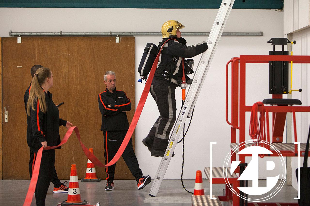 PPMO test voor Brandweermensen. ©Patrick van Gemert