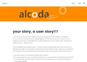 Webtekstn voor Alcoda BV