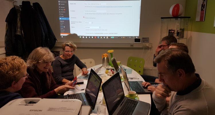 Workshop WordPress voor beginners bij Zutphens Persbureau