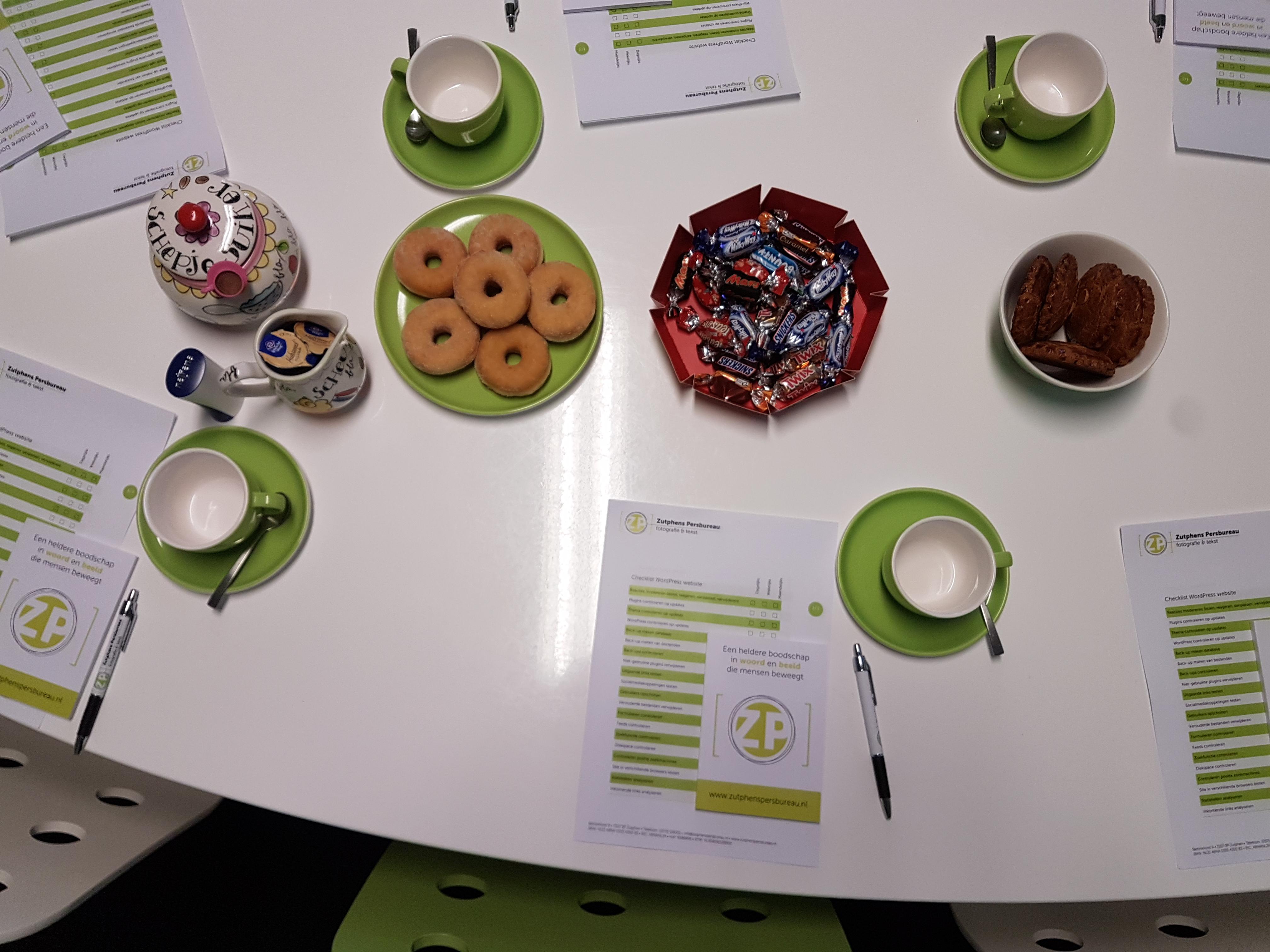 Workshop bij Zutphens Persbureau