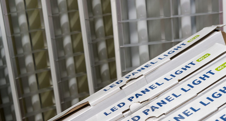 Weg met de TL bakken. LED verlichting bij Zutphens Persbureau.