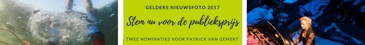 Stem nu op Patricks foto's voor de Gelders Nieuwsfoto 2017 Publieksprijs