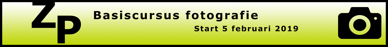 Betere foto's maken? Schrijf je nu in voor de nieuwe basiscursus fotografie