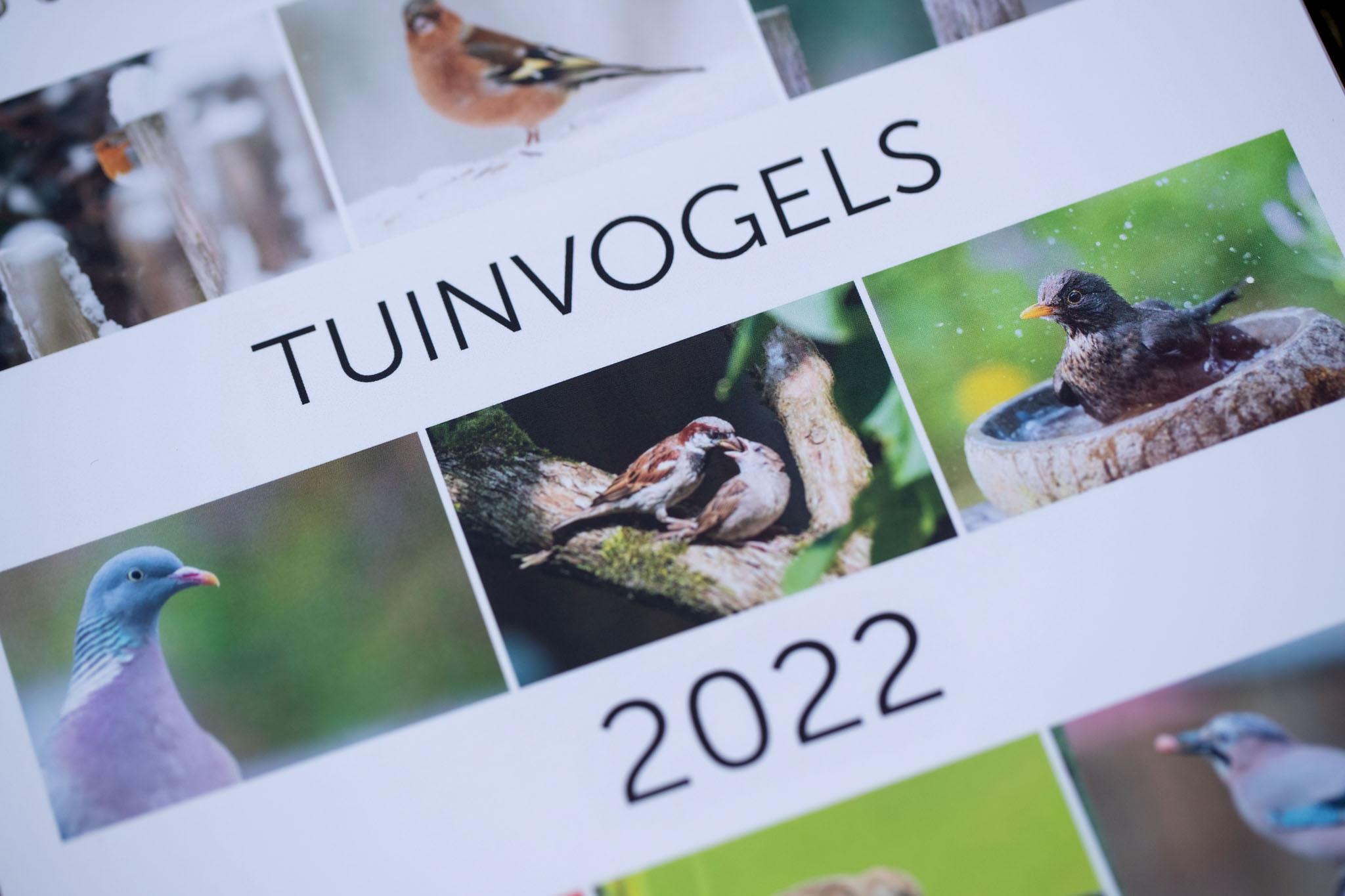 Tuinvogel kalender